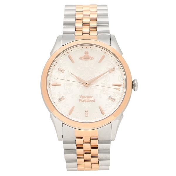 ヴィヴィアンウエストウッド 腕時計レディース VIVIENNE WESTWOOD VV208RSSL ローズゴールド シルバー