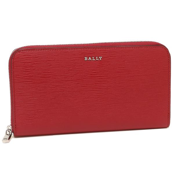 【24時間限定ポイント5倍】バリー 長財布 レディース BALLY 6224719 156 レッド