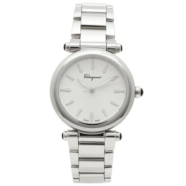 【4時間限定ポイント5倍】フェラガモ 腕時計 レディース Salvatore Ferragamo FCH110017 シルバー