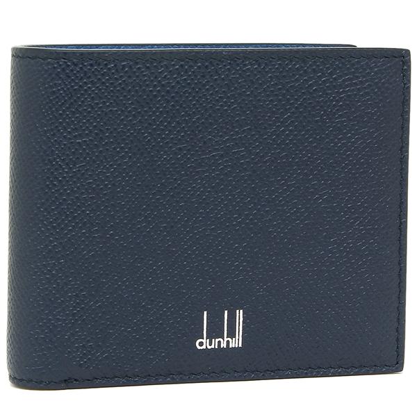 ダンヒル 折財布 メンズ DUNHILL 18F2320CA410 ネイビー