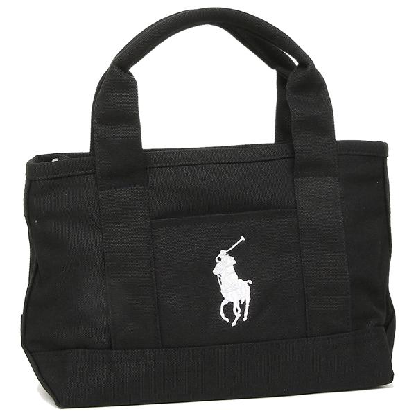 Polo Tote Bag Lady S Ralph Lauren Ra100115 Black