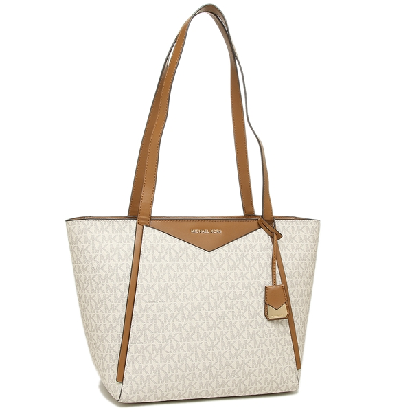 51c0e4a06ecd Michael Kors tote bag Lady's MICHAEL KORS 30S8GN1T1B 150 white ...