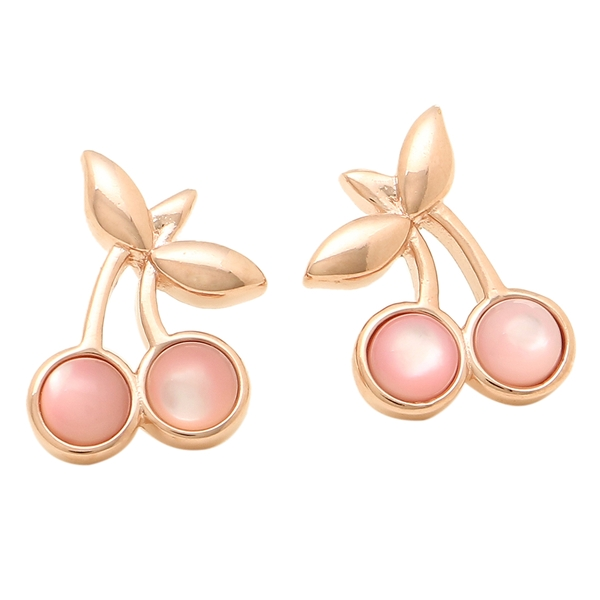 Pierced Earrings Of Coach Are Available