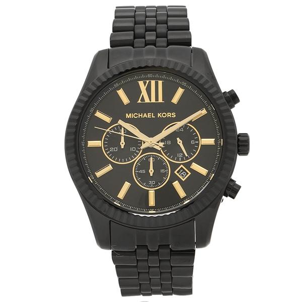 マイケルコース 腕時計 メンズ MICHAEL KORS MK8603 ブラック