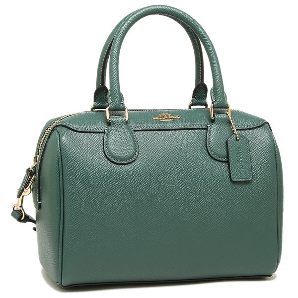 Coach Handbag Shoulder Bag Lady S Outlet F32202 Imm7q Green