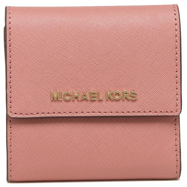 dfc8935b92c1 ... Michael Kors fold wallet outlet Lady's MICHAEL KORS 35F8GTVD1L ROSE pink  ...