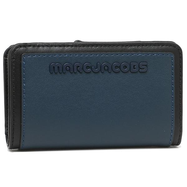 【4時間限定ポイント10倍】マークジェイコブス 折財布 レディース MARC JACOBS M0014295 426 ブルー