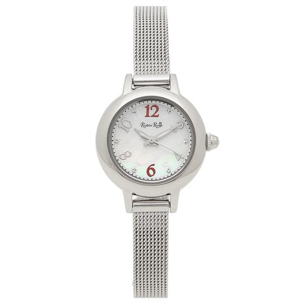 ルビンローザ 腕時計 レディース Rubin Rosa R202SWH シルバー ホワイト