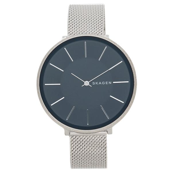 【4時間限定ポイント10倍】スカーゲン 腕時計 レディース SKAGEN SKW2725 ネイビーブルー シルバー
