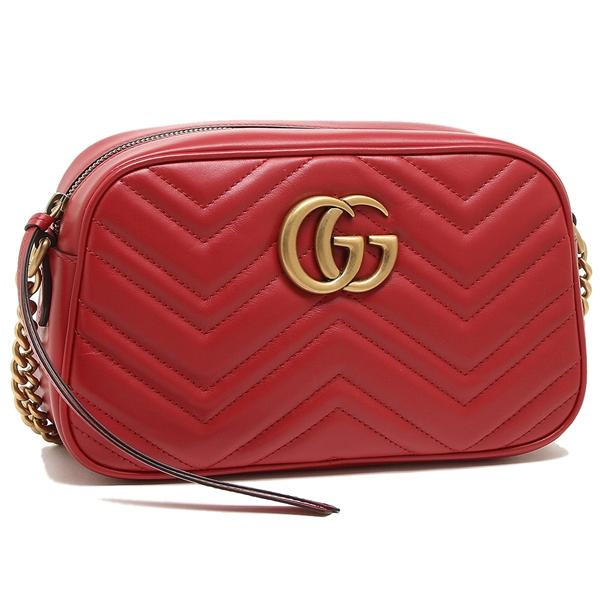 Gucci shoulder bag Lady\u0027s GUCCI 447632 DTD1T 6433 red