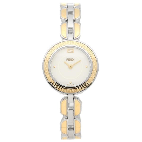 フェンディ 腕時計 レディース FENDI F351124000 イエローゴールド ホワイト, おばあちゃんの梅干し d15ae965