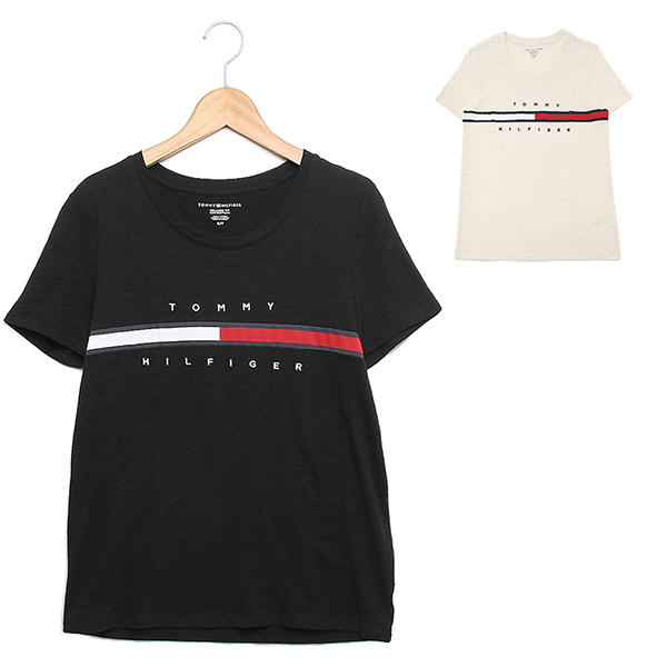da26fd67 トミーヒルフィガー T-shirt outlet Lady's TOMMY HILFIGER RM87685584 ...