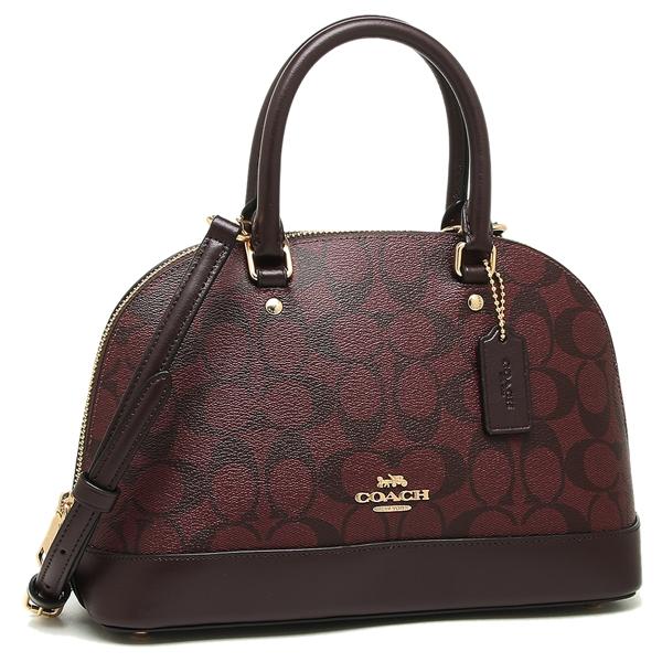 8bb787d98cf2 Coach handbag shoulder bag outlet Lady s COACH F27583 IML7C Bordeaux
