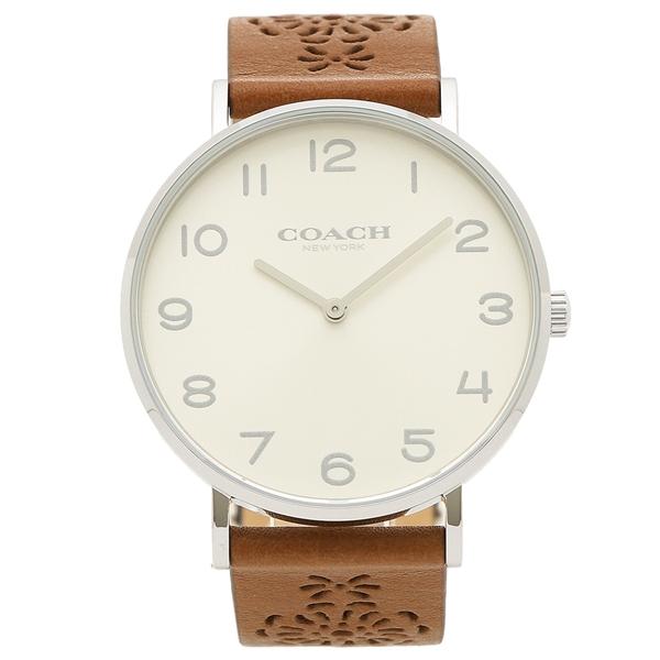 【返品OK】コーチ 腕時計 レディース COACH 14503031 ブラウン シルバー