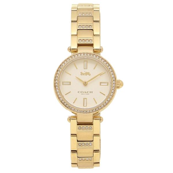 【返品OK】コーチ 腕時計 レディース COACH 14503098 イエローゴールド ホワイト