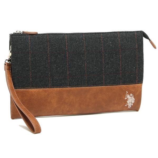 adfac4241040 Brand Shop AXES  US polo clutch bag men gap Dis US POLO ASSN USPA-2521 black