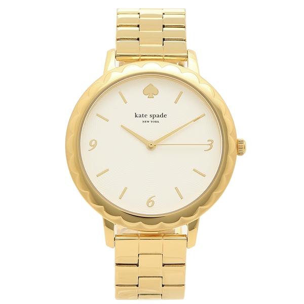 ケイトスペード 腕時計 レディース KATE SPADE KSW1494 パール イエローゴールド
