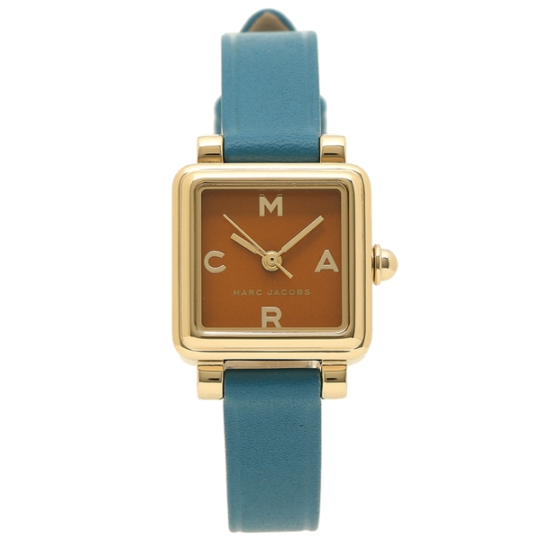 【4時間限定ポイント10倍】マークジェイコブス 腕時計 レディース MARC JACOBS MJ1639 ブルー オレンジ