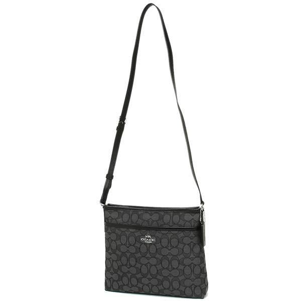 5415b41ec ... Coach bag outlet COACH F29960 signature jacquard file crossbody Lady's  shoulder bag ...