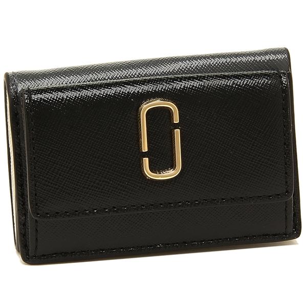 【4時間限定ポイント10倍】マークジェイコブス 折財布 レディース MARC JACOBS M0014492 002 ブラックマルチ