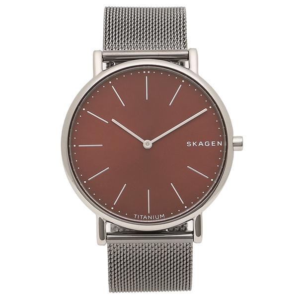 スカーゲン 腕時計 メンズ SKAGEN SKW6485 シルバー レッド
