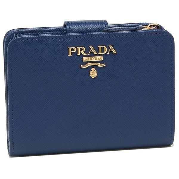 プラダ 折財布 QWA レディース PRADA 1ML018 QWA F0016 PRADA F0016 ブルー, atelier brugge ONLINE:6b6e91c3 --- sunward.msk.ru