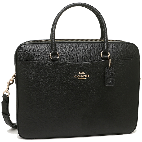 de6c3ad7 Coach shoulder bag business bag outlet Lady's COACH F39022 IMBLK black