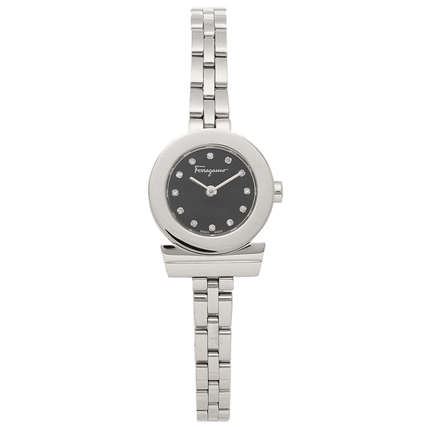 フェラガモ 腕時計 レディース レディース Salvatore ブラック Ferragamo SFBF00218 Ferragamo シルバー ブラック, CUORE:1643ed25 --- sunward.msk.ru