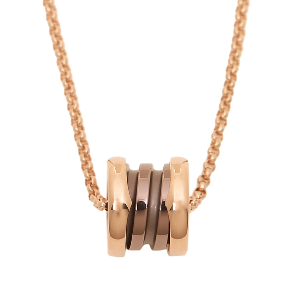 e6cff5ea3bf04 Bulgari necklace accessories jewelry Lady's BVLGARI CL857876 pink gold  bronze