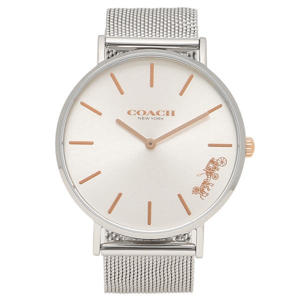 【9時間限定ポイント10倍】【返品OK】コーチ 腕時計 レディース COACH 14503124 シルバー