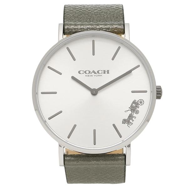 【返品OK】コーチ 腕時計 レディース COACH 14503155 グレー シルバー