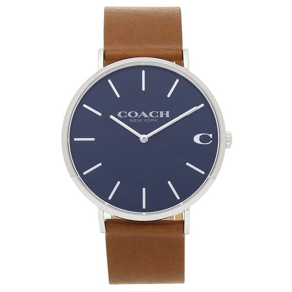 【4時間限定ポイント10倍】コーチ 腕時計 メンズ COACH 14602151 ブラウン ブルー