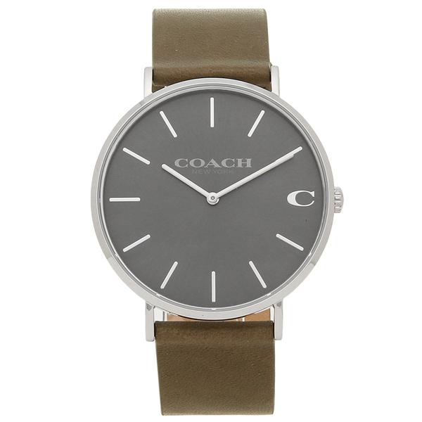 【4時間限定ポイント10倍】コーチ 腕時計 メンズ COACH 14602153 カーキ グレー