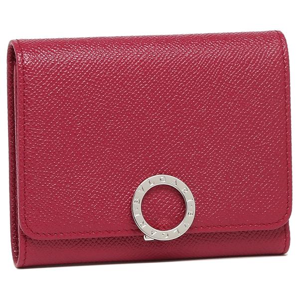 【4時間限定ポイント10倍】ブルガリ 折財布 レディース BVLGARI 287274 ピンク