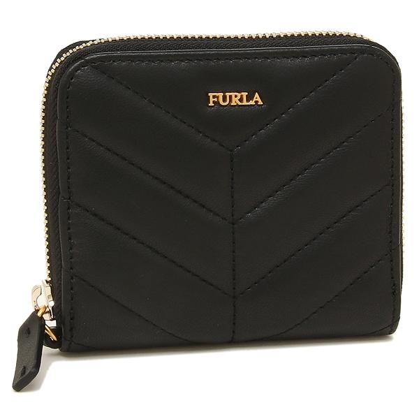 【4時間限定ポイント10倍】フルラ 折財布 レディース FURLA 993355 PAZ2 2Q0 O60 ブラック