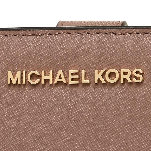 3e12b535f1ec ... Michael Kors fold wallet outlet Lady's MICHAEL KORS 35F7GTVF2L DUSTY ROSE  pink ...