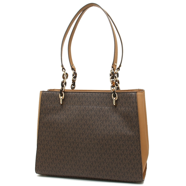 f5994bce2f07f8 ... Michael Kors tote bag outlet Lady's MICHAEL KORS 35F8GO5T3B BRN/ACORN  brown ...