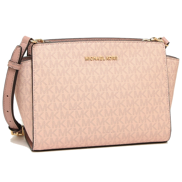 ba3d3b23b319a7 Michael Kors shoulder bag outlet Lady's MICHAEL KORS 35H8GLMM2B FAWN/BALLET  pink ...