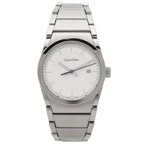 【期間限定ポイント5倍】【返品OK】カルバンクライン 腕時計 レディース CALVIN KLEIN K6K331.46 シルバー