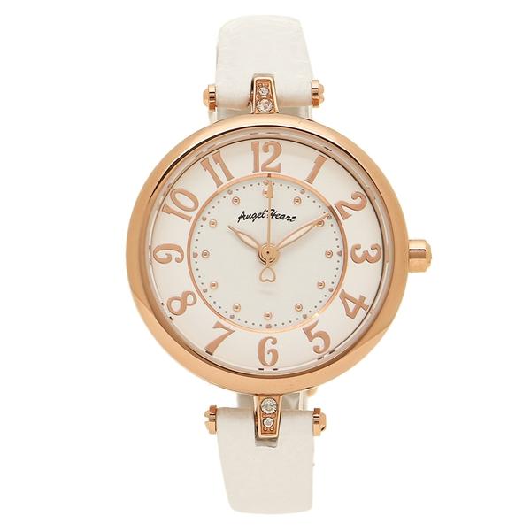 【返品OK】エンジェルハート 腕時計 レディース ソーラー ANGEL HEART IT29P-WH ホワイト ピンクゴールド
