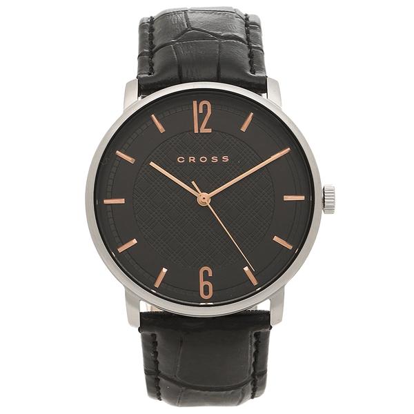 【4時間限定ポイント10倍】【返品OK】クロス 腕時計 メンズ CROSS CR8053-04 ブラック