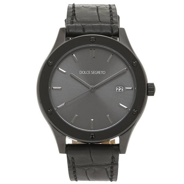 【4時間限定ポイント10倍】【返品OK】ドルチェセグレート 腕時計 メンズ DOLCE SEGRETO CF420GR ブラック