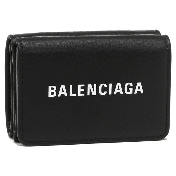 【4時間限定ポイント10倍】バレンシアガ 折財布 メンズ/レディース BALENCIAGA 551921 DLQ4N 1000 ブラック