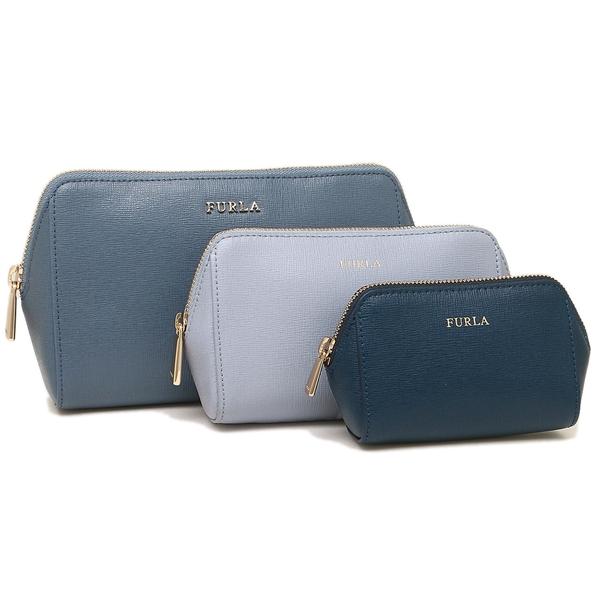 フルラ ポーチ レディース FURLA 1006702 EL95 B30 G72 ブルー パープル ブルー