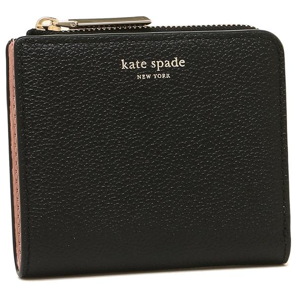 【4時間限定ポイント10倍】【返品OK】ケイトスペード 折財布 レディース KATE SPADE PWRU7160 001 ブラック