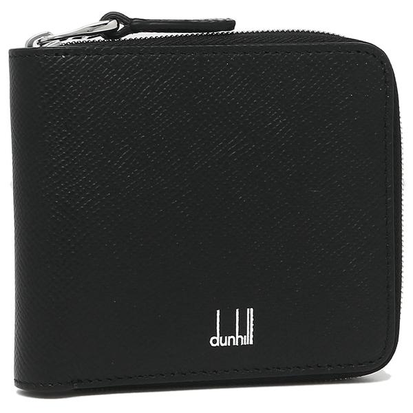 【24時間限定ポイント5倍】ダンヒル 折財布 メンズ DUNHILL DU18F2355CA 001 ブラック