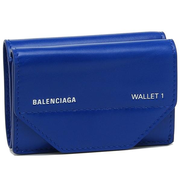 バレンシアガ 折財布 レディース BALENCIAGA 529098 0ST2N 4290 ブルー