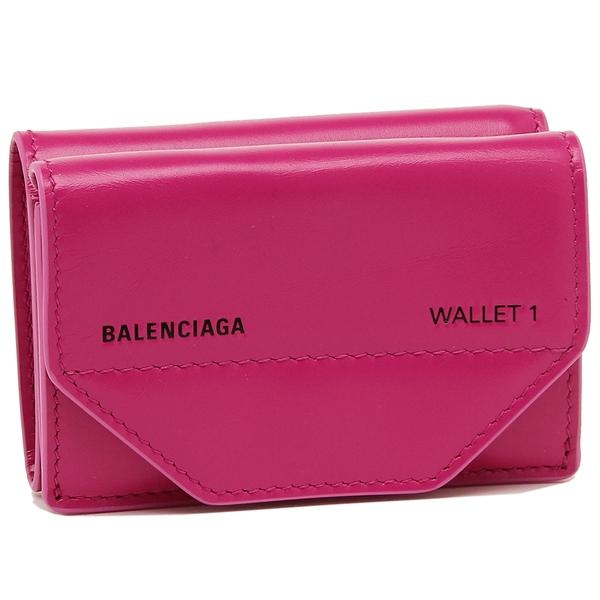 バレンシアガ 折財布 レディース BALENCIAGA 529098 0ST2N 5560 ピンク