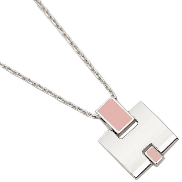 エルメス ネックレス アクセサリー レディース HERMES H146201FP 59 ピンク シルバー