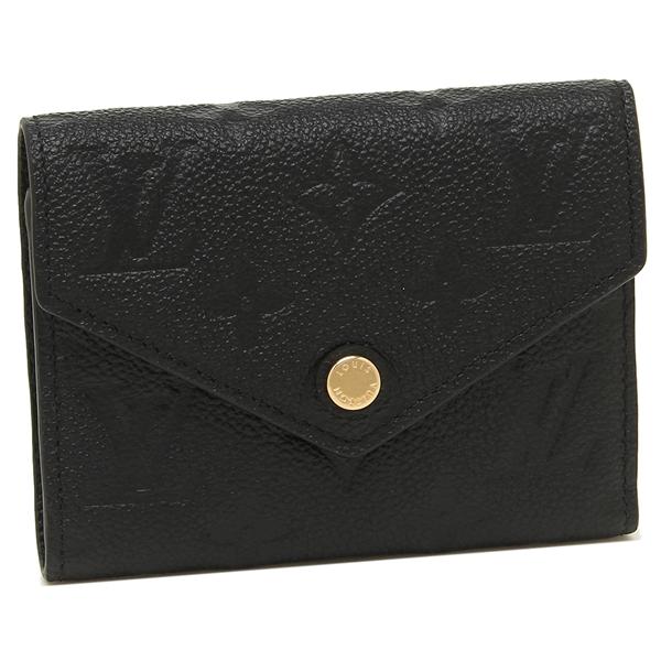 ルイヴィトン 折財布 レディース LOUIS VUITTON M64060 ブラック